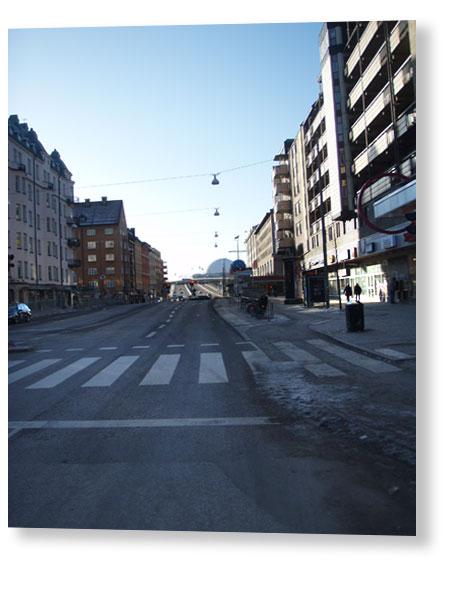 8:45 passerar Skanstull
