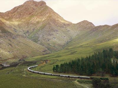 Extriör bild. Foto: Rovos Rail