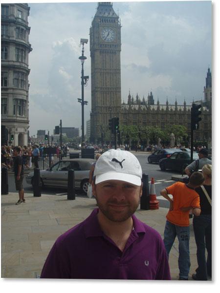 Jag och Big Ben