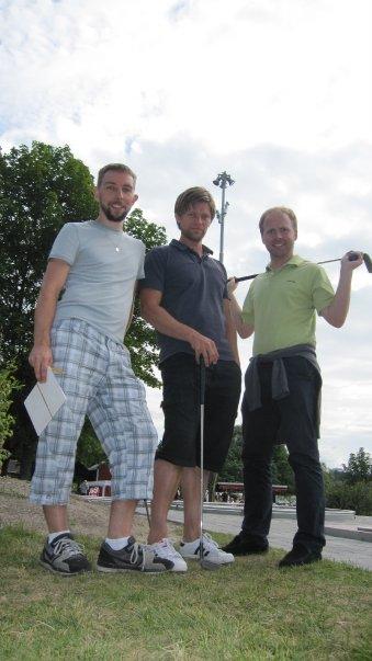 Walle, Daniel och jag