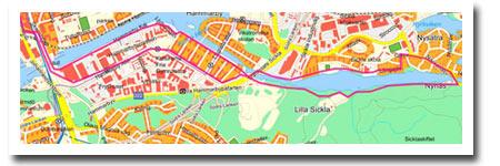 En skön tur på 9 km halvvägs ut till Hellasgården.